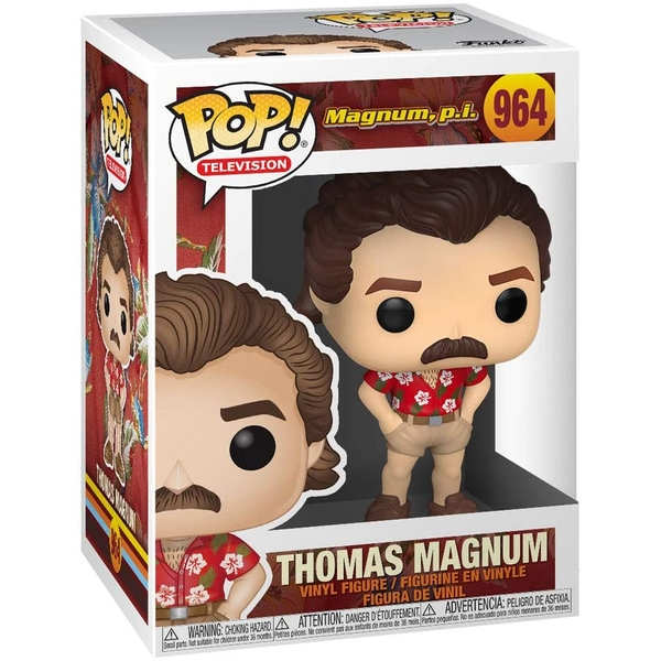 Thomas Magnum Collectable Figure