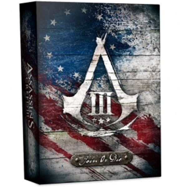 Assassin's Creed III 3 Join Or Die Edition PS3 Game