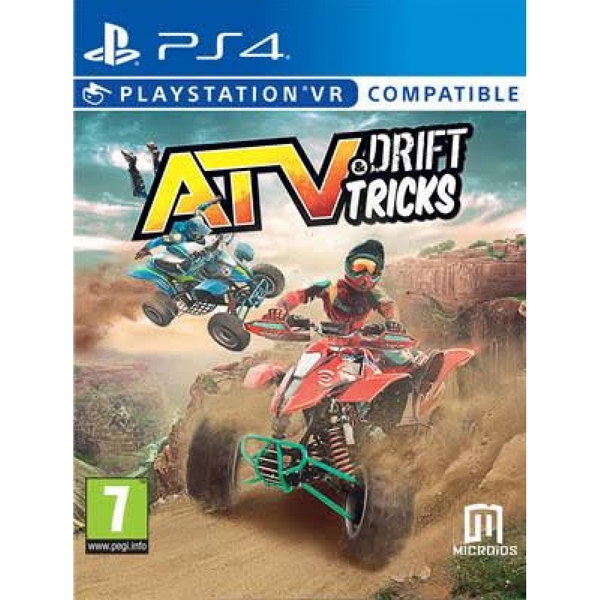 ATV Drift and Tricks (PSVR Compatible) PS4 Game - Image 1