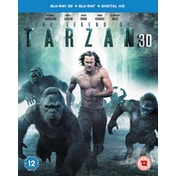 The Legend Of Tarzan 3D Blu-ray   Blu-ray   Digital HD