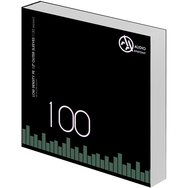 100 X 12 Inch PE Outer Sleeves (130 Micron)