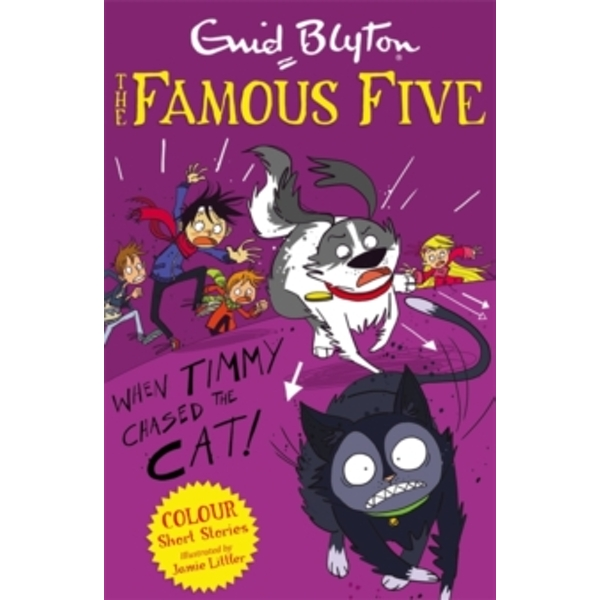 Famous Five Colour Short Stories: When Timmy Chased the Cat