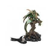 Woodland Guardian Dragon Statue