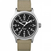 Ex-Display Timex T49962Expedition Scout Watch with Beige Nylon Strap Used - Like New
