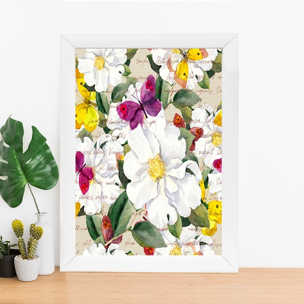 BC259101338 Multicolor Decorative Framed MDF Painting