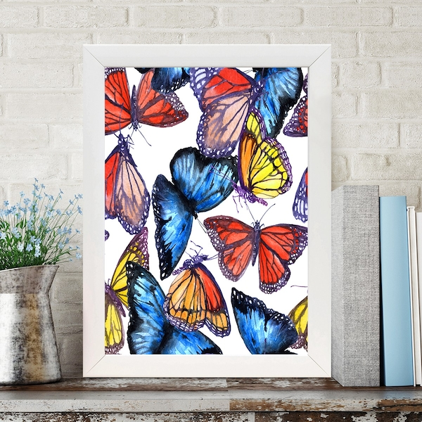 BC265711706 Multicolor Decorative Framed MDF Painting