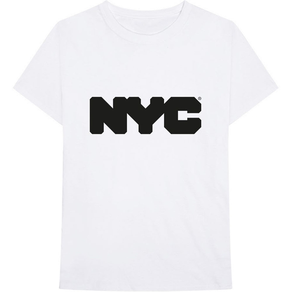 New York City - Logo Unisex XX-Large T-Shirt - White