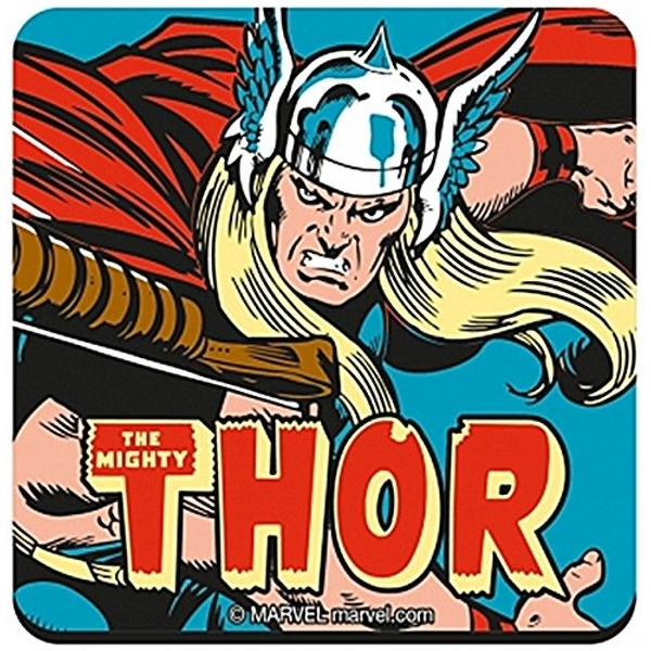 The Mighty Thor drinks mat / coaster