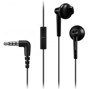Panasonic Stereo Earphones with Mic (Black)