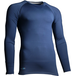 Precision Essential Base-Layer Long Sleeve Shirt Adult Navy - Large 42-44 Inch - Image 2