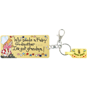 Pack of 6 Who Needs A Fairy Godmother Key Rings