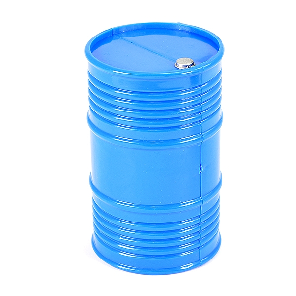 Fastrax Painted Oil Drum - Blue