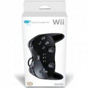 Ex-Display Official Nintendo Classic Controller Pro Black Wii & Wii U Used - Like New