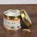 Apricot Nectar (Fragrant Orchard Collection) Gold Tin Candle - Image 2