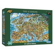 Gibsons This Is Europe Jigsaw Puzzle - 1000 Pieces