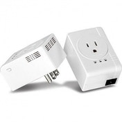 TRENDnet TPL-407E2K 1 Port 500Mbps Powerline AV Nano Adapter - White UK Plug