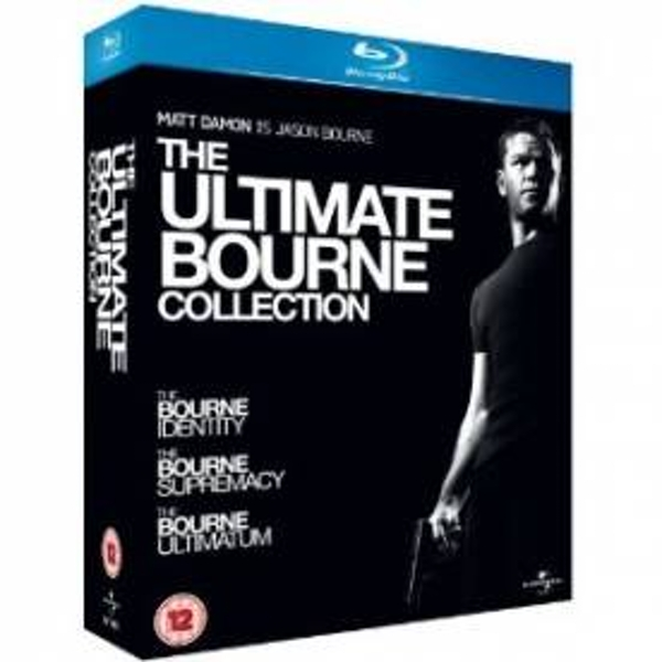 The Ultimate Bourne Collection Blu-Ray