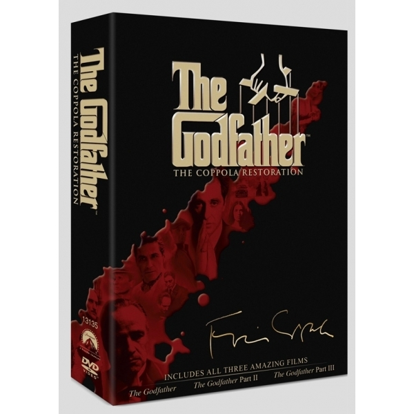 The Godfather Trilogy Restoration Collection DVD
