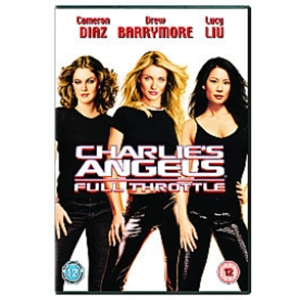 Charlie's Angels Full Throttle DVD