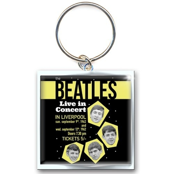 The Beatles - 1962 Live in Concert Keychain