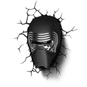 3D Wall Light Kylo Ren