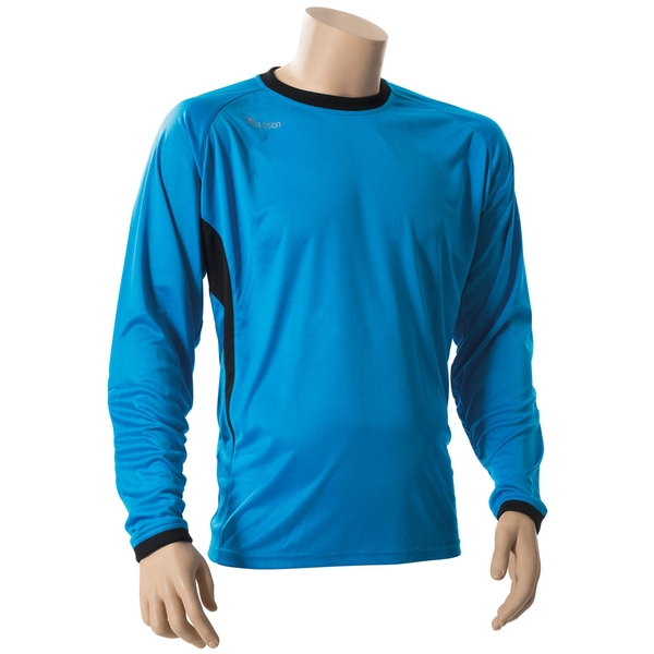 Precision Premier Goalkeeping Shirt Electric Blue - L Junior 30-32""