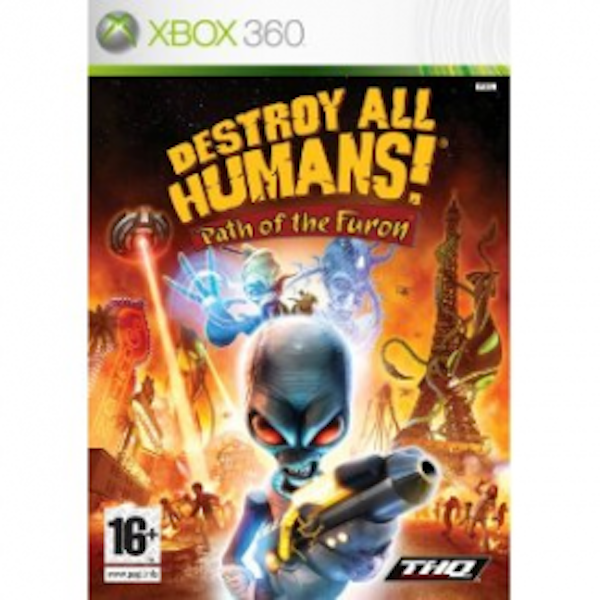 Destroy All Humans! Path Of The Furon Game Xbox 360