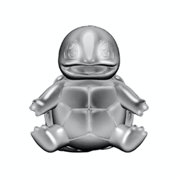Silver Squirtle (Pokemon) 3 Inch Select Limited Edition Battle Figure