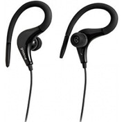 Groov-e Sports Clips Ultra Light Earphones Black