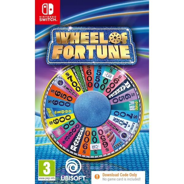 Wheel of Fortune Nintendo Switch Game [Code in a Box]