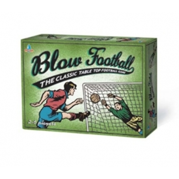 Ex-Display Blow Football Retro Board Game Used - Like New