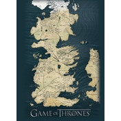 Game Of Thones - Map Postcard