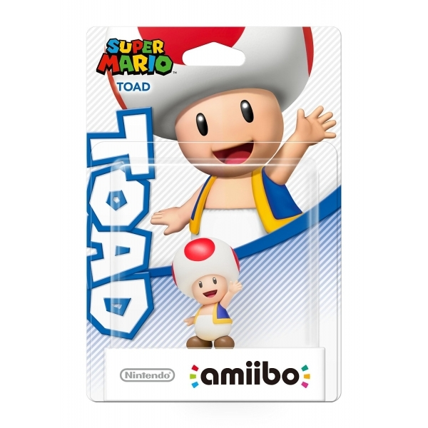 Toad Amiibo (Super Mario Collection) for Nintendo Wii U & 3DS - Image 5