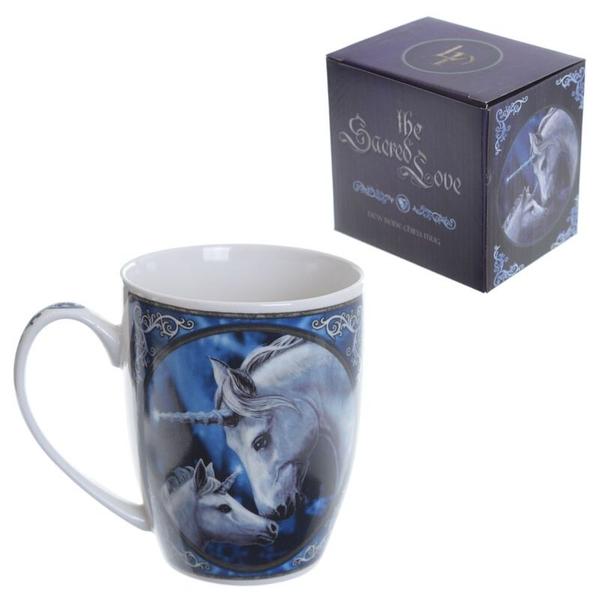 Unicorn and Foal New Bone China Mug