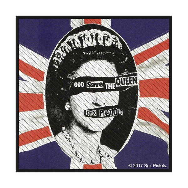 The Sex Pistols - God Save The Queen Standard Patch