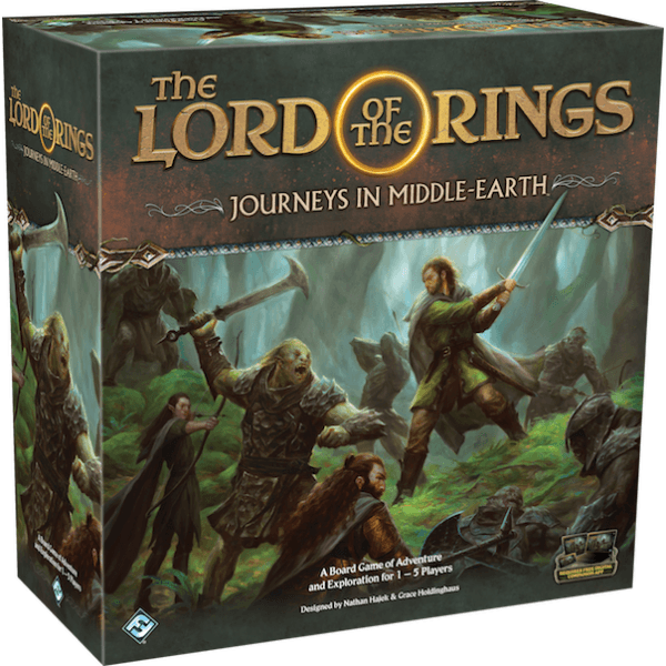 The Lord of the Rings: Journeys in Middle-Earth Board Game - Image 1