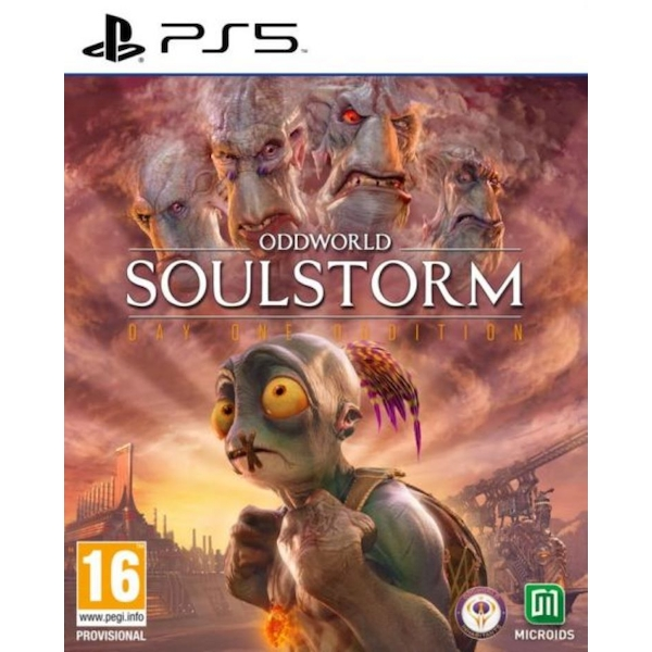 Oddworld Soulstorm Day 1 Oddition PS5 Game
