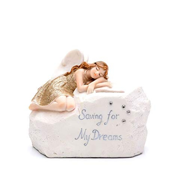 Thoughts Of You Angel Money Bank - Saving For My Dreams