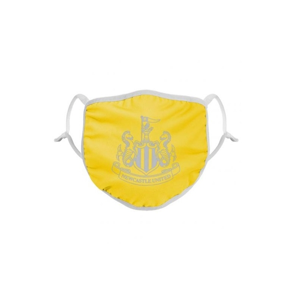 Newcastle United FC Reflective Face Covering Yellow