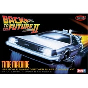 Back To the Future II Time Machine 1:25 Model Snap Kit