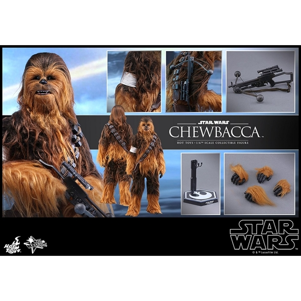 Chewbacca (Star Wars The Force Awakens) 1:6 Scale Hot Toys Figure - Image 7