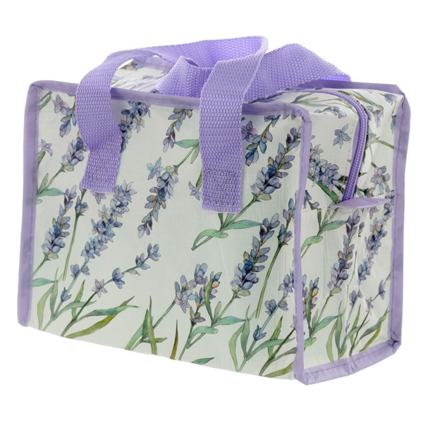 Lavender Fields Small Recycled Plastic Reusable Lunch Bag