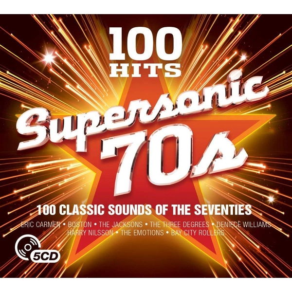 100 Hits - Supersonic Seventies CD
