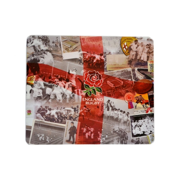 Image of England Rugby RFU Retro Computer Mouse Mat