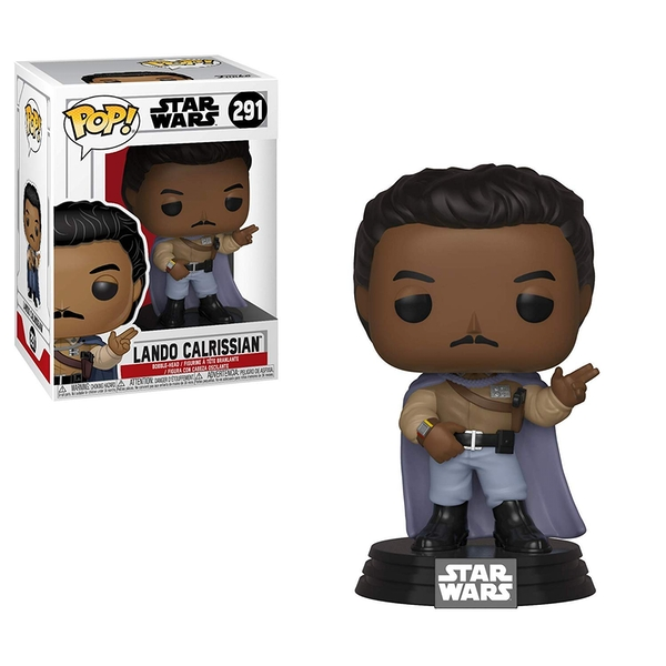 General Lando Calrissian (Star Wars) Funko Pop! Bobble Head Vinyl Figure #291