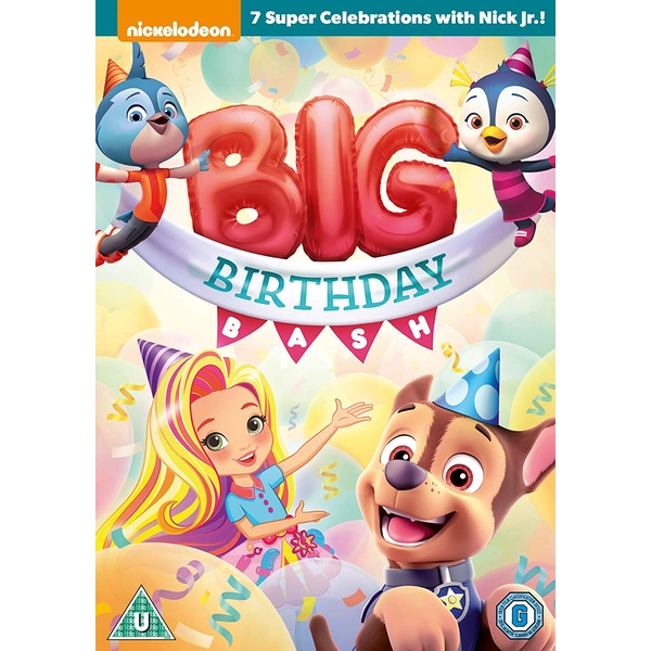 Nick Jr. Big Birthday Bash DVD