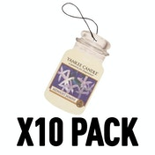 Midnight Jasmine (Pack Of 10) Yankee Candle Car Jar Air Freshener