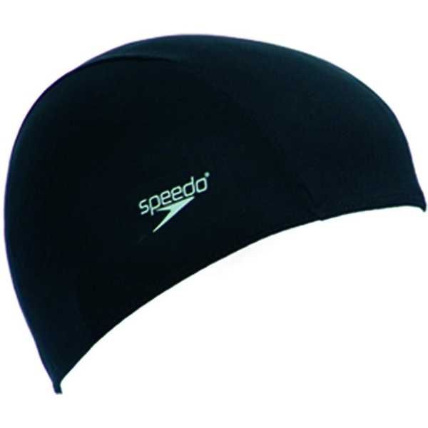 Speedo Polyester Caps Black Junior