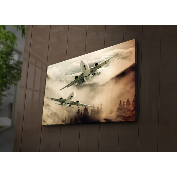 4570?ACT-62 Multicolor Decorative Led Lighted Canvas Painting