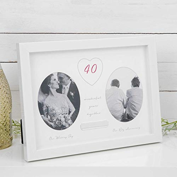 AMORE BY JULIANA? 40th Anniversary Frame - Engraving Plate